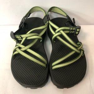 Chaco sport sandals women size 6 beautiful green